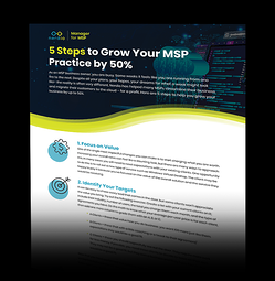 5 Steps to Grow Your MSP - Infographic-1